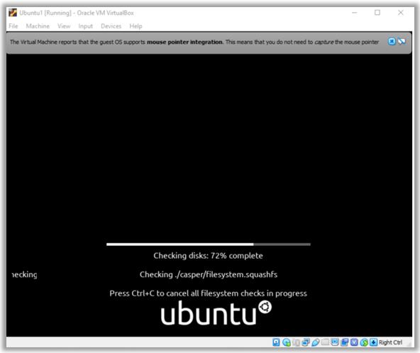 Ubuntu Pre install boot VirtualBox