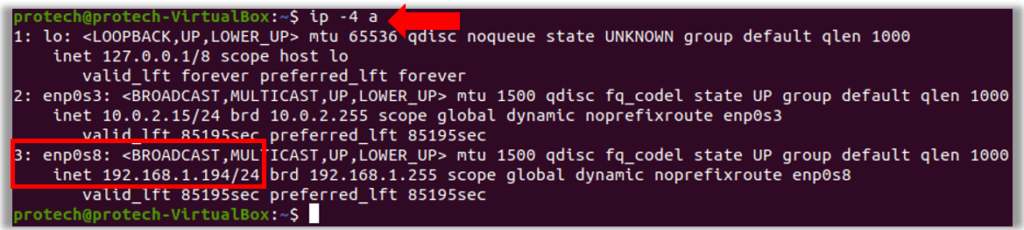 VirtualBox Ubuntu Network Interface same subnet as Windows Host Remote Desktop