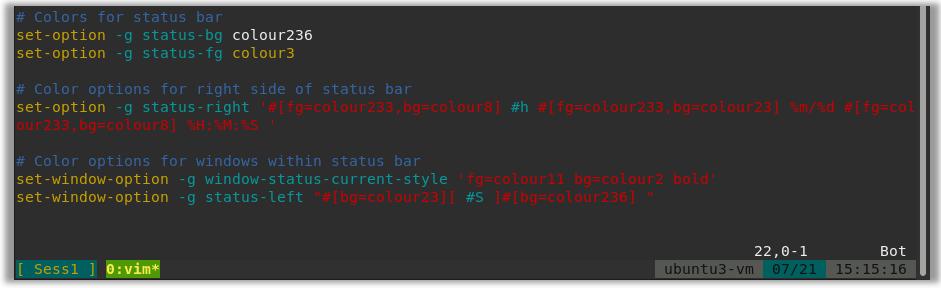 tmux detach attach cheat sheet config conf powerline themes scheme server tmuxinator wemux