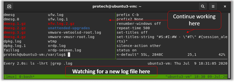tmux powerline config conf themes quick start tips status bar color session pane server