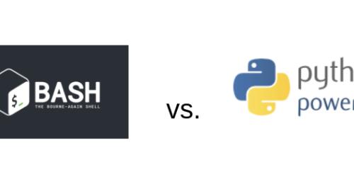 bash vs. python